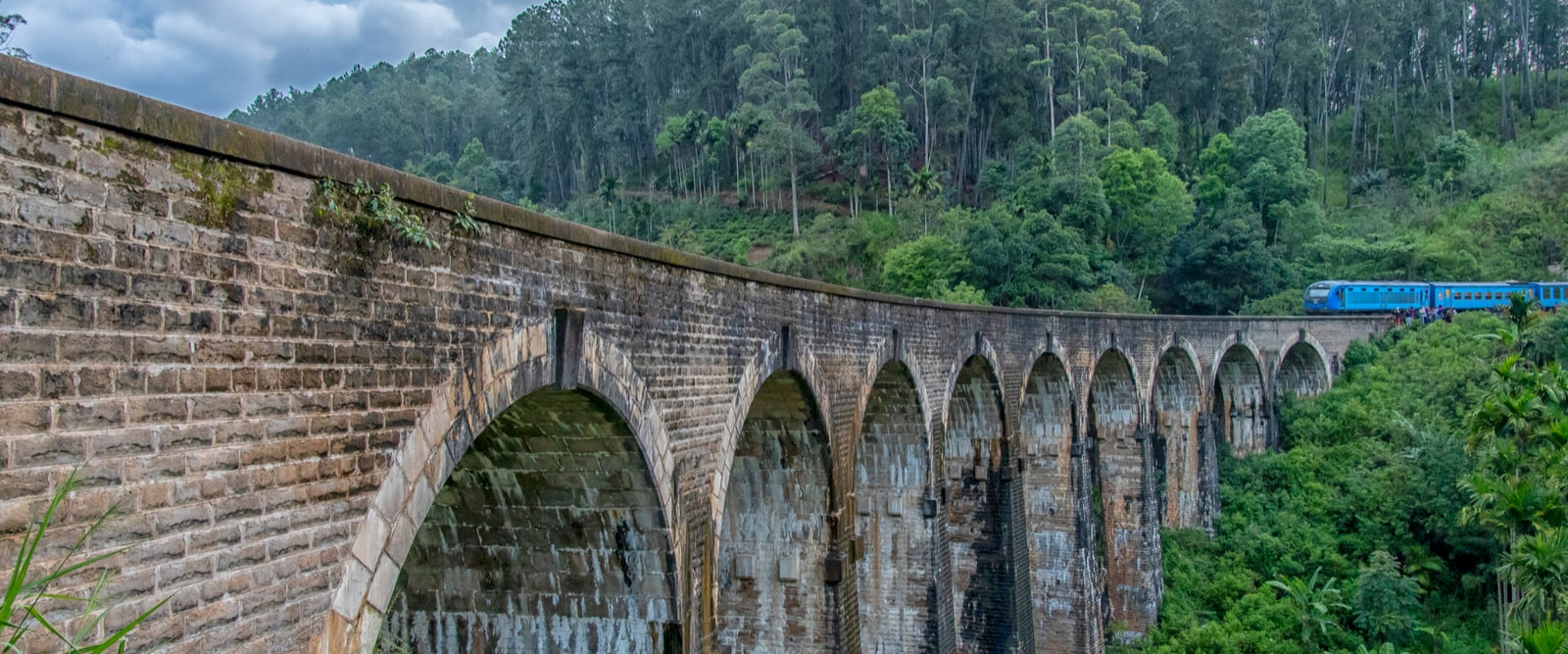 The 7-hour train trip Ella to Kandy takes you through green and lush tea plantation. The small and charming Ella Train Station. Taking the train to or from Ella is the most famous stretch of train travel in Sri Lanka, and is nearly a tourist attraction in itself